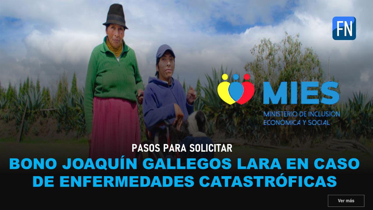 Bono gallegos lara para enfermedades catastroficas