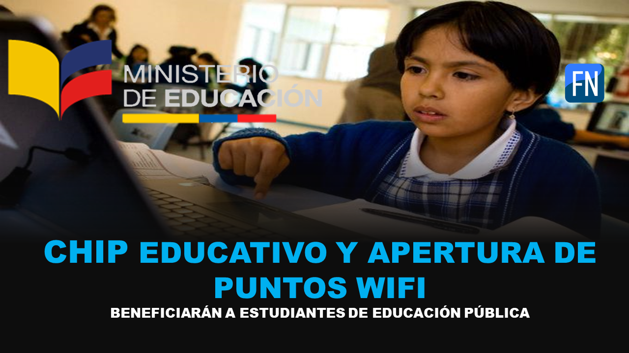 chip educativo y puntos wifi