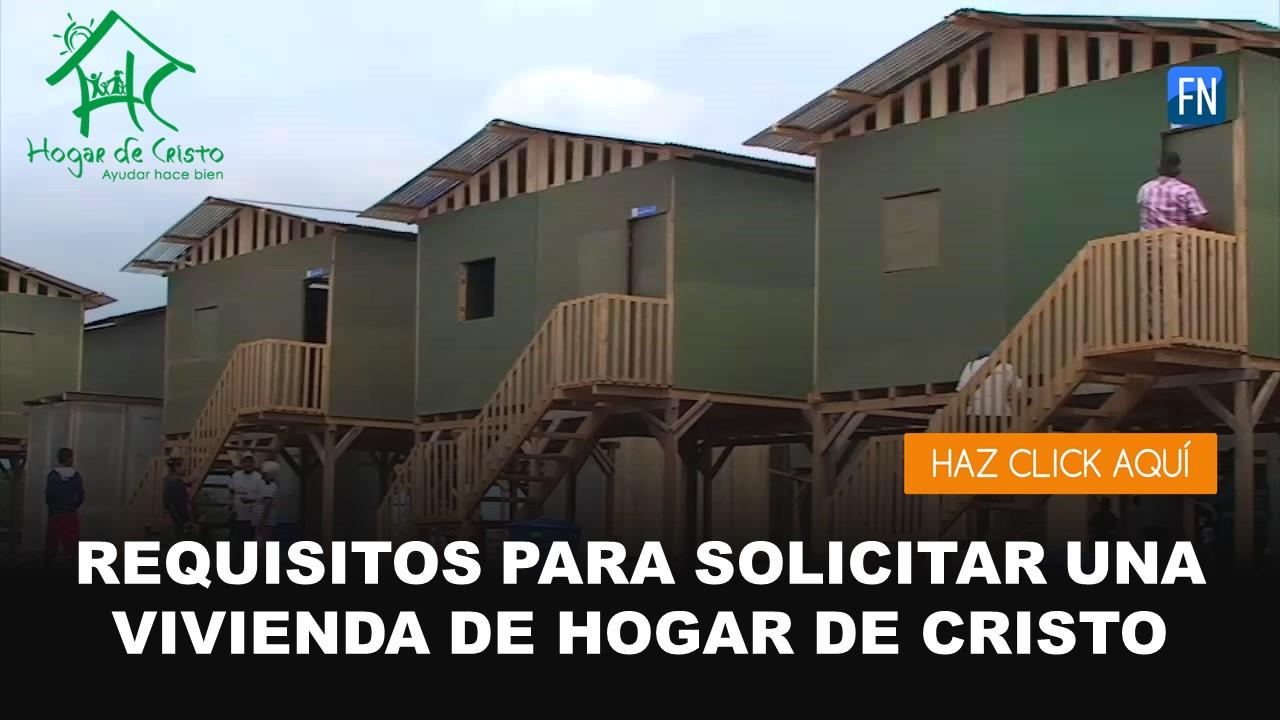 vivienda hogar de cristo