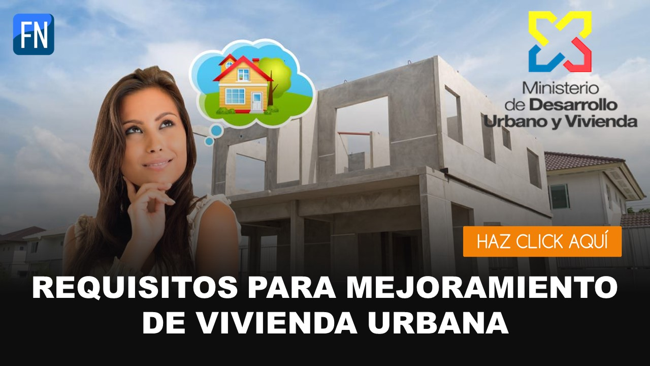 mejoramiento vivienda urbana