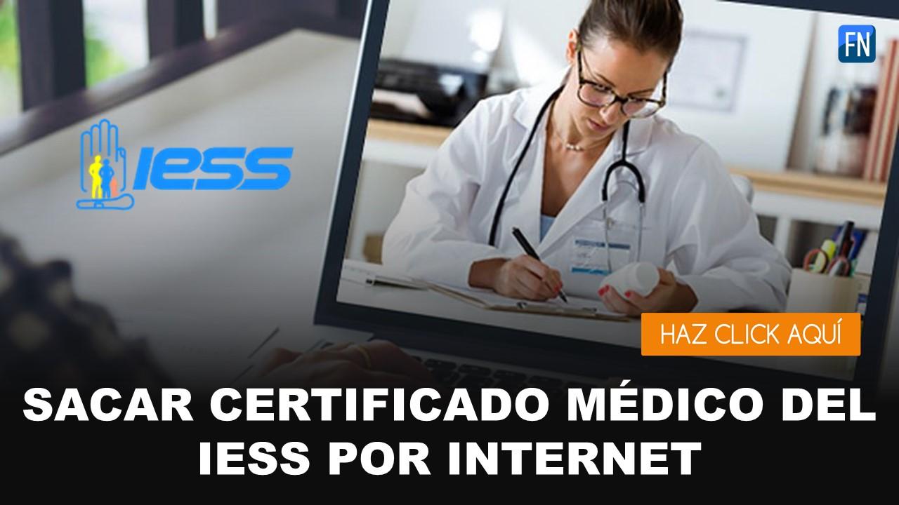 certificado medico iess